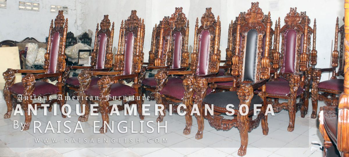 Antique American Sofa Collection By Raisa English