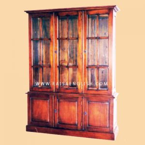 RABC 002 - Antique Bookcase 3 D