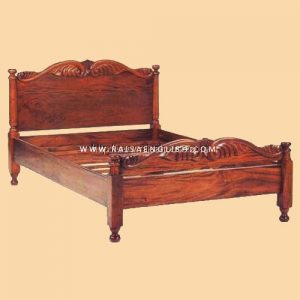 RABD 002 - Classic Colonial Bed Carved