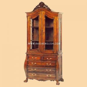 RACB 002 - Chippendale Bookcases Cabinet