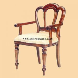 RACR 001 A - Admiralty Armchair Carved