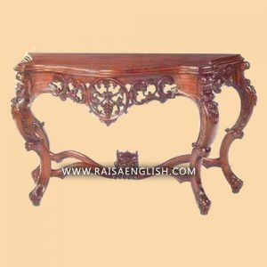 RACS 001 - Eksklusif Console Table Grape Carved