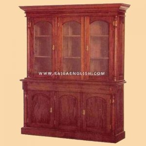 RABC 005 - Bookcase Australian Colonial 3Door