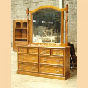 RADM 002 - Vines Dressing Table 8 Dr + Mirror