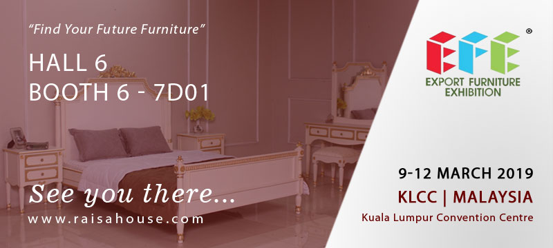 EFE at KLCC Malaysia 2019 Export Furniture Exhibition