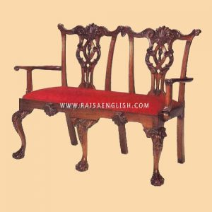 RAAC 007 - Chair Chippenden Curverd Gondo 2 Seater