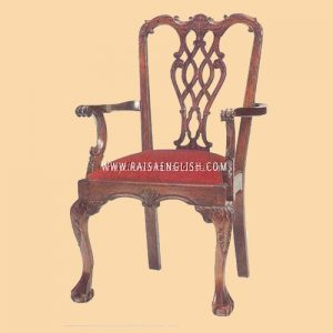 RACR 006 A - Chair Chippendale Carver S