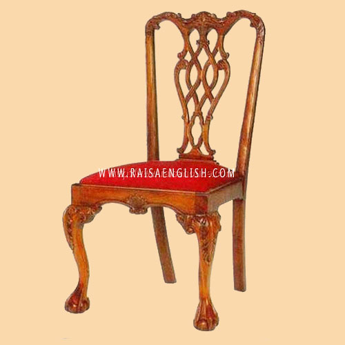 RACR 006 - Chair Chippendale S