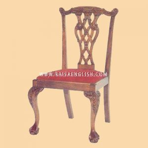 RACR 007 - Chair Chippendale Lion