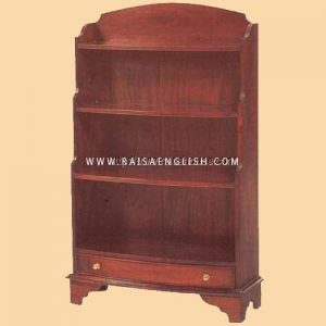 RABC 009 - Bow Front Book Shelf