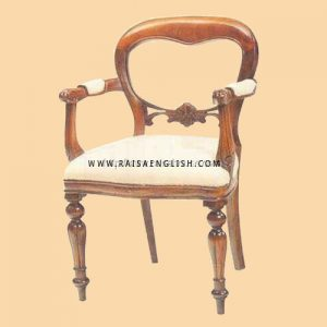 RACR 008 A - Chair Dutch F/l Carver