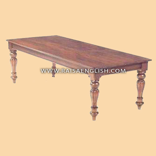 RADT 003 240R - Dining Table 240 R/l