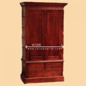 RAAR 008 - Wardrobe 2 Door 2 piece