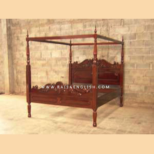 RABD 005 Q - Louis 4 Poster & Canopy Bed King