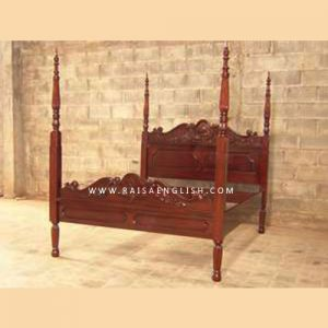 RABD 006 Q - Louis 4 Poster Bed King