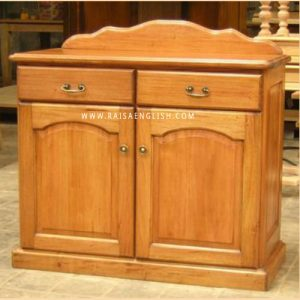 RABF 005 2 - Colonial 2 Doors Buffet w/ Drawers