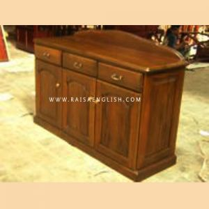 RABF 005 - 3 - Colonial 3 Doors Buffet w/Drawers