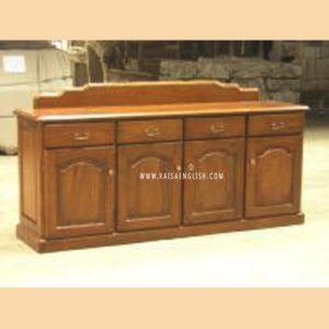 RABF 005 4 - Colonial 4 Doors Buffet w/ Drawers