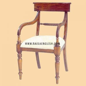 RACR 011 A - Chair Regency Rope Back Carver