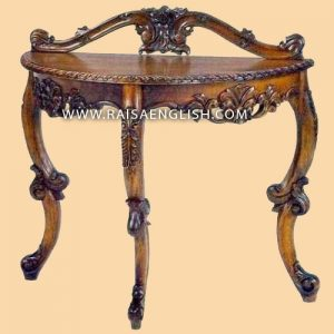 RACS 004 - Side Table Carved