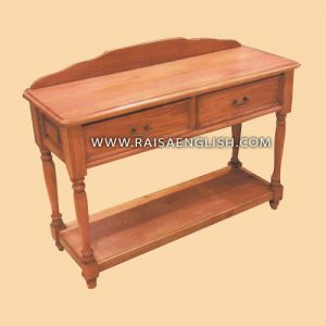 RACS 006 2 - Colonial Hall Table 2 Drawers