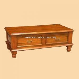 RACT 013 - Colonial Coffee Table 2 Drawers