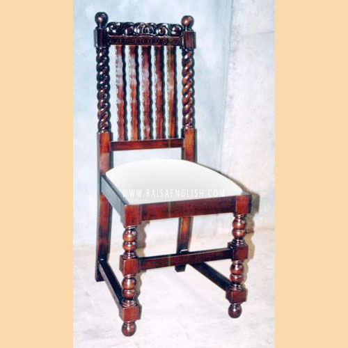 RADC 008 - Jacobean Spindle Chair