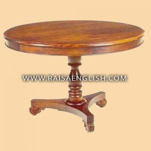 RADT 008 120 - Pedestal Dining Table 120