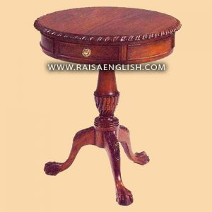 RAOT 006 - Chippendale Drum Table 60