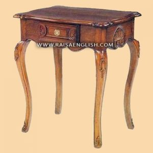 RAOT 007 - Carved Hall Table 1 Drawer