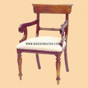 RACR 013 A - Chair Regency Star Carver