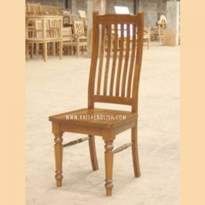 RACR 018 - Colonial Slate Curved Back Chair Wooden Seat
